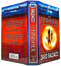 THE FINISHER by DAVID BALDACCI —Scholastic, Inc (2014) (1st ed., 1st printing)