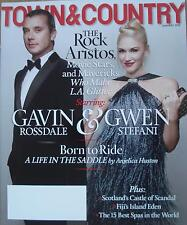 Town & Country USA Magazine - January 2014 - GAVIN ROSSDALE & GWEN STEFANI