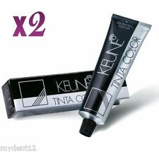 2 x Keune Tinta Color Permanent Hair Color (SELECT YOUR SHADES) 60ml each Tube