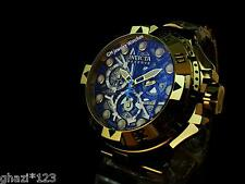 Invicta Mens Reserve Excursion Z60 Swiss Chrono Skeleton Dial18k GP SS New Watch
