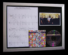 UB40 Help Falling Love TOP QUALITY CD MUSIC LTD FRAMED DISPLAY+FAST GLOBAL SHIP