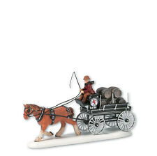 Dept 56 Dickens RED LION PUB BEER WAGON Accessory D56 Village 58421 DV NEW