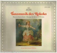 Rococo Dance Music (Danze Rococo) / Ensemble Eduard Melkus - LP Archiv