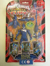 POWER RANGERS JUNGLE FURY SHARK RANGER TRASFORMABILE ANIMALE  12 CM