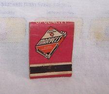 VINTAGE MARVEL MILD CIGARETTE MATCHBOOK COVER-SMOKE-TOBACCO-USA