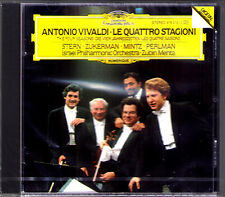 Isaac Stern ltzhak Perlman Zukerman Mintz: Vivaldi The Four Seasons Zubin Mehta