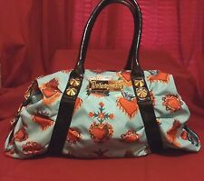 Betsey Johnson Betseyville Large Victorian-look Bag EUC