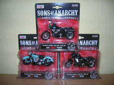 Maisto Harley-Davidson Sons of Anarchy Chibs Tig JT Teller 3er Modell Set, 1:18