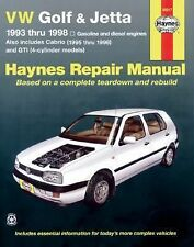 VW Golf & Jetta, 1993 - 1998 (Haynes Manuals)