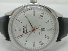 vintage hmt jubilee hand winding mens steel white dial wrist watch run order
