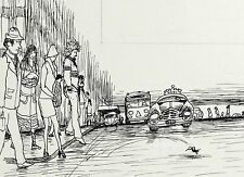 GARTH WILLIAMS~STUNNING PUBLISHED ORIGINAL PEN AND INK DRAWING ~ CHESTER CRICKET
