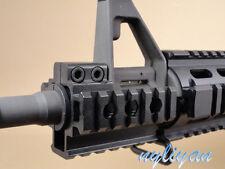 Hunting Tri Side 20mm Rail Barrel Scope Mount Base Fit 12 Gauge Caliber Shotgun