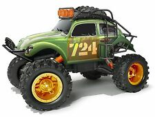 R/C MAISTO 1:10 DESERT REBELS VOLKSWAGEN BEETLE OFF ROAD GREEN 82075