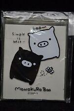 San-X Monokuro Boo Black White Pig Compact Mirror MK31818