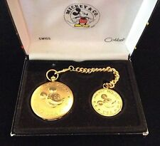Colibri Mickey Mouse & CO. Quartz Pocket Watch Good Tone *Working*