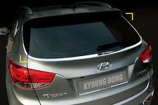 Chrome Rear Glass Molding 4p Made in Korea for Hyundai Tucson ix 2010 ~ 2015