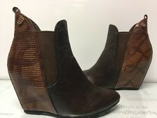 Vintage By Jeffrey Campbell Women's Ankle Boots  Leather Size 7.5