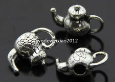 15pc Tibetan Silver teapot Charm  Pendant accessories Beads wholesale PL158