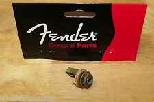 "RELIC AGED FENDER GENUINE GUITAR OUTPUT JACK 1/4"" 0021956049"