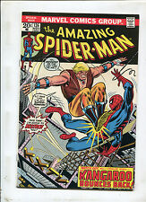 THE AMAZING SPIDER-MAN #126 (8.0) THE KANGAROO BOUNCES BACK ! 1973