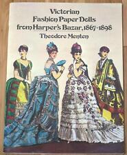 Victorian Fashion Paper Dolls from Harper's Bazar, 1867-1898    1977 DOVER PUB
