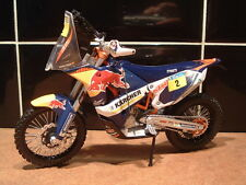 1:12 2014 KTM 450 MARC COMA RALLY PARIS DAKAR MODEL #2 FRANCISCO LOPEZ CONTARDO