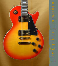 Blitz® LPA-15 Cherry Sunburst,Flamed Maple Top,Gold Hardware,connoisseurs choice