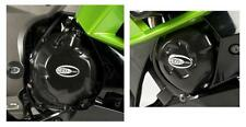 R&G ENGINE CASE COVER KIT (2 Covers) for KAWASAKI Z1000, 2014 to 2015
