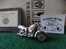 Franklin Mint Harley Davidson 1971 Super Glide 1:24 Scale Diecast Motorcycle