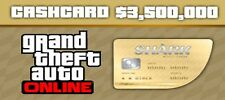 NEW Grand Theft Auto Online (PC): Whale Shark Cash Card $3,500,000 game cash