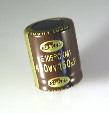 Samwha HE Series Electrolytic Capacitor 450V 150uf 105'C HE2W157M25030HA OL0186