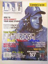 Rivista DJ TIMES magazine SEALED Sett 2008 Danny Tenaglia's Mike Rizzo's No cd
