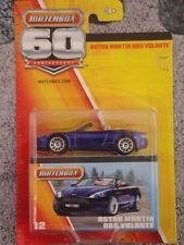 Matchbox 2013 60th Anniversary #12 ASTON MARTIN DBS VOLANTE purple 100yrs Aston