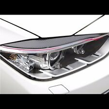 Headlight Eye Line Black Carbon Fiber For BMW 3 Series F30 M3 328i 335i 320i