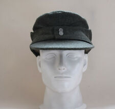 WWII German WH Elite EM M43 Panzer Wool Field Cap Hat