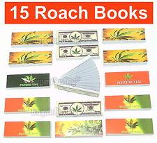 Grande Qualità & Valore ROCHE BOOK FILTER TIPS confezione di 15 = 750 roaches