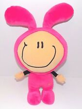 Play Along Plush - Pink Bunny Girl Doll Rabbit Soft Toy, 15 1/2""
