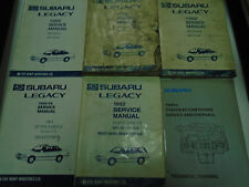 1992 Subaru Legacy Service Repair Shop Manual SET FACTORY OEM Books Incomplete