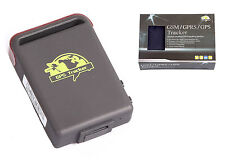 Personal Gps Traqueur Tk102b 4 band GPS GSM GPRS Vehicle Tracker Google map
