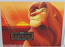 Disney Store Lion King Lithographs Special Edition Picture Photo Simba Lot of 4