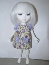 Smock Style Dress For Mary Quant Daisy Disco Girls Blythe Makies Dolls