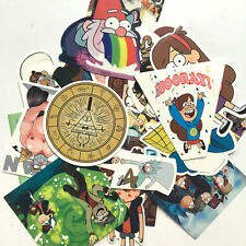 26pcs Gravity Falls Stickers Bike Laptop Snowboard Skateboard Decal Car Stickers