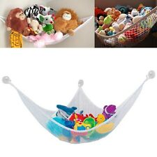 Toy Hammock Kids Organizer Net Stuffed Animals / Dolls Storage + Free Mug Hooks