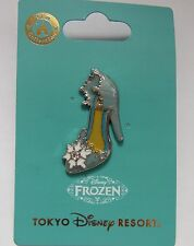 Elsa Frozen High Heel Shoe Pin Tokyo Disney Resort Disneyland Princess Japan New