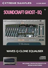 Xtreme Samples Soundcraft Ghost EQ Waves Q-Clone Library