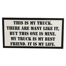This is my Truck Rifleman's Creed sticker USMC Full Metal Jacket by Seven 13