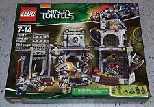 LEGO TMNT 79117 Turtle Lair Invasion 888 pcs Retired! Brand New & Sealed!