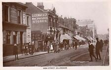 High Street Gillingham RP old pc used 1918 Ive & Lowe