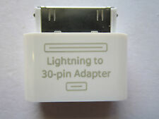 New Lightning Female to Old Iphone/Ipad/Ipod Touch 30 Pin Connector Male Adaptor