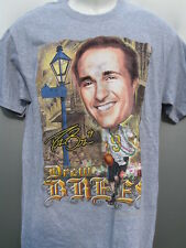 NFL New Orleans Saints Drew Brees Cartoon Caricature Mardi Gras t shirt M NWT